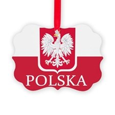 Polska Polish Flag Ornament