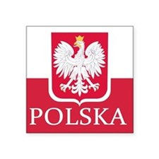 Polska Polish Flag Sticker