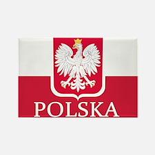 Polska Polish Flag Magnets