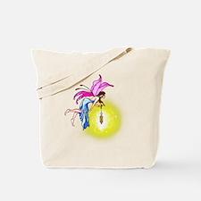 Glowing Lantern Fairy Tote Bag