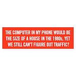 Figure Out Traffic Bumper Sticker