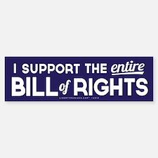 Bill of Rights Bumper Bumper Bumper Sticker