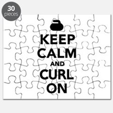 Keep calm and curl on Puzzle