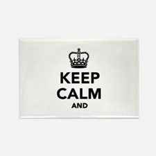 Keep calm and Rectangle Magnet