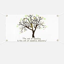 The Art Of Teaching Banner
