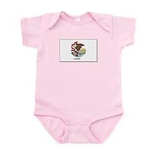 Illinois Flag Infant Bodysuit