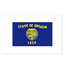 Oregon Flag Postcards (Package of 8)