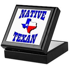 Native Texan Keepsake Box