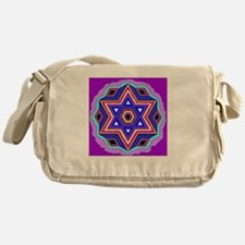 Jewish Star of David. Messenger Bag
