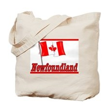 Canada Flag - Newfoundland  Tote Bag