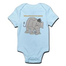 Baby elephant (Daily performance for peanuts) Body
