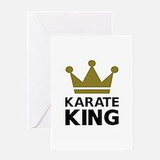 Karate king champion Greeting Card