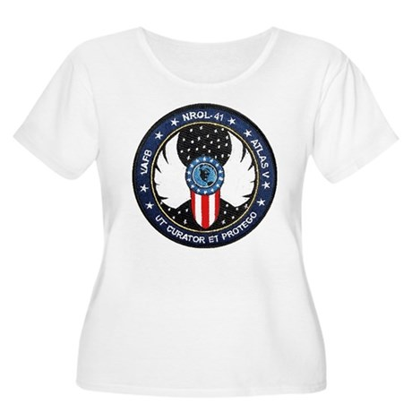 NROL-41 Progr Women's Plus Size Scoop Neck T-Shirt