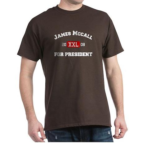 James McCall for President Dark T-Shirt