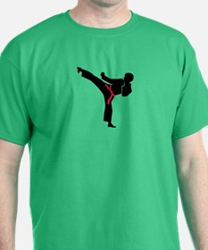 Martial arts Karate kick T-Shirt