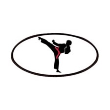 Martial arts Karate kick Patches