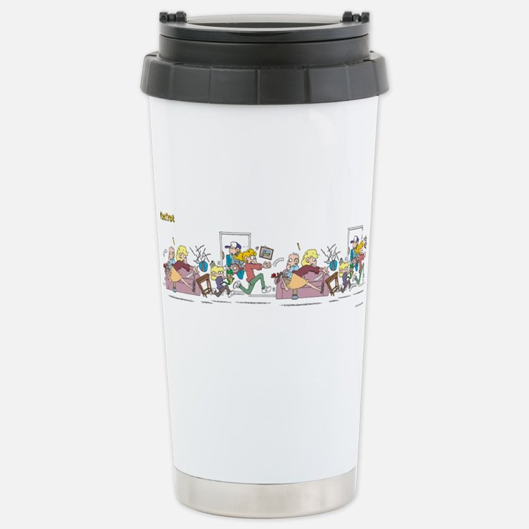 Cute Comic strip Travel Mug