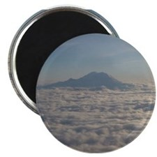 Mt. Rainier Above the Clouds Magnets