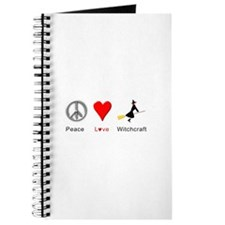 Peace Love Witchcraft Journal