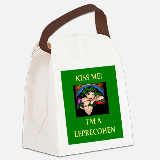 I2 Canvas Lunch Bag