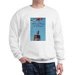 A Woman Belongs on a Pedestal Sweatshirt