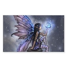 Little Blue Moon Fairy Fantasy Art Decal