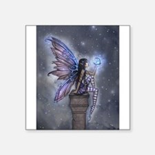 Little Blue Moon Fairy Fantasy Art Sticker