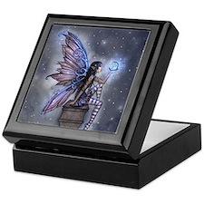 Little Blue Moon Fairy Fantasy Art Keepsake Box