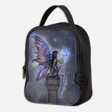 Little Blue Moon Fairy Fantasy Art Neoprene Lunch