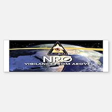 NROL-32 Program Logo Bumper Bumper Sticker