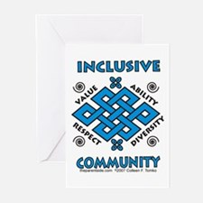 Inclusive Community Greeting Cards (Pk of 10)