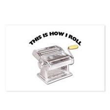 How I Roll Pasta Postcards (Package of 8)