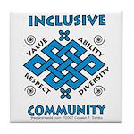 Inclusive Community Tile Coaster
