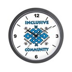 Inclusive Community Wall Clock