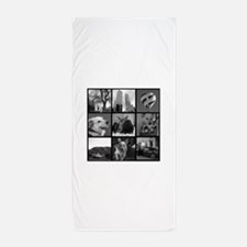 Your Photos Here - Photo Block Beach Towel