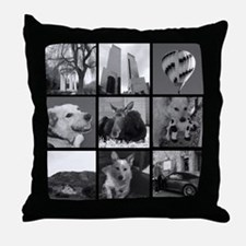 Your Photos Here - Photo Block Throw Pillow