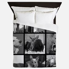 Your Photos Here - Photo Block Queen Duvet
