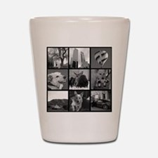 Your Photos Here - Photo Block Shot Glass