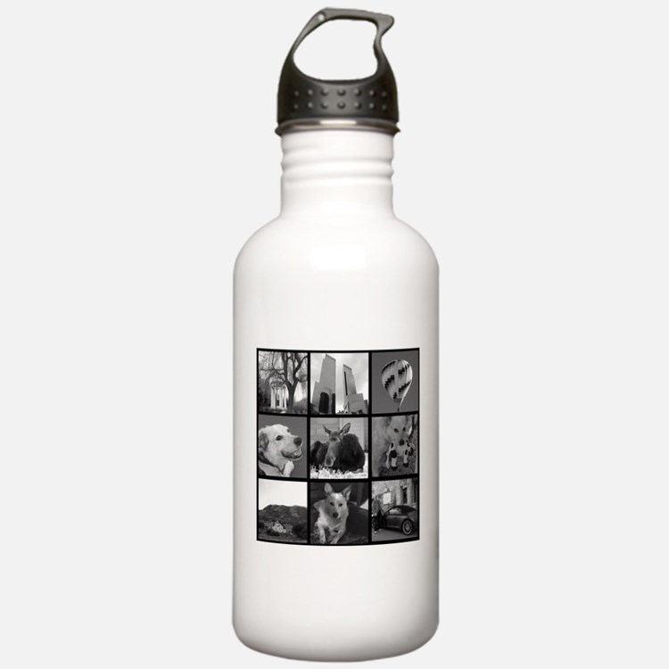 Your Photos Here - Photo Block Water Bottle