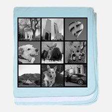 Your Photos Here - Photo Block baby blanket