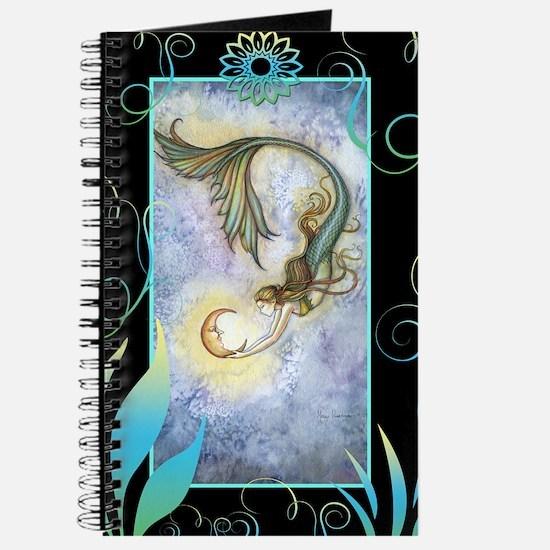 Deep Sea Moon Mermaid Fantasy Art Journal