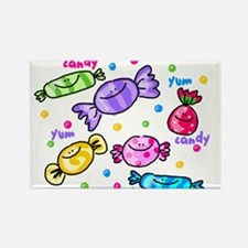 Candy Rectangle Magnet