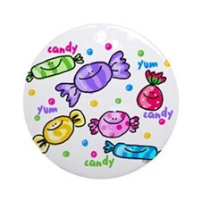 Candy Ornament (Round)