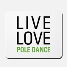 Pole Dance Mousepad
