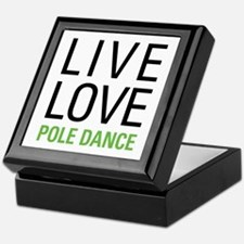Pole Dance Keepsake Box