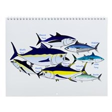 Fish Patterns 4 Wall Calendar