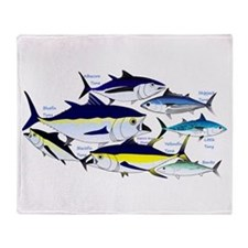 7 tuna Throw Blanket