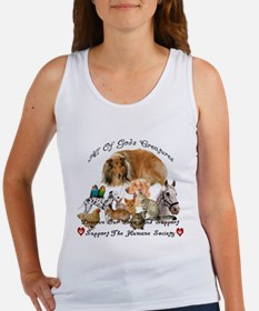 Funny Animal shelter Women's Tank Top