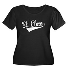 St. Elmo, Retro, Plus Size T-Shirt