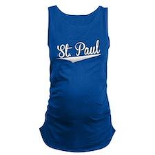 St. Paul, Retro, Maternity Tank Top